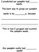 Pumpkin Math Activity Book