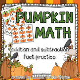 Pumpkin Math ~ Addition and Subtraction