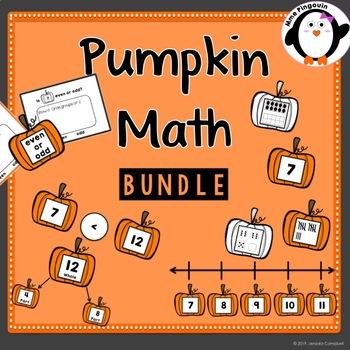 Pumpkin Math BUNDLE!