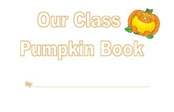 Pumpkin Math Booklet