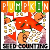 Kindergarten Pumpkin Math Center - Differeniated Fall Center - (0-10 or 10-19)