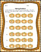 Pumpkin Math Center, Number Identification Card Game & Printables