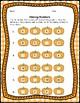 Pumpkin Math Center, Number Identification Card Game & Printables