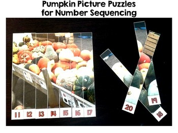 Pumpkin Math Centers