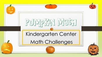 Pumpkin Math Challenges