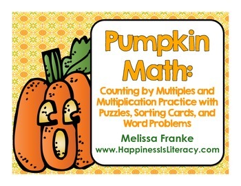 Pumpkin Math: Counting by Multiples and Multiplication Practice
