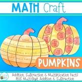 Halloween Math Craft - Pumpkins