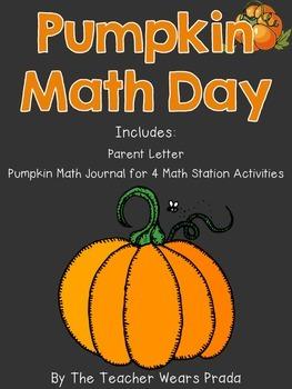 Pumpkin Math Day Journal