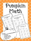Pumpkin Math Fact Practice (Primary Grades)