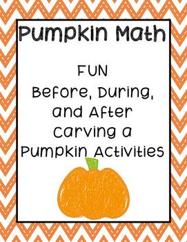 Pumpkin Math (Fall/Halloween Activity)