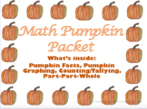 Pumpkin Math Flipchart: Facts, Graphing, Counting/Tallying