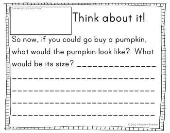 Pumpkin Math Freebie
