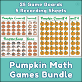 Pumpkin Math Games Bundle