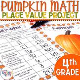 Pumpkin Math Activities | Place Value Activities | 4th Grade