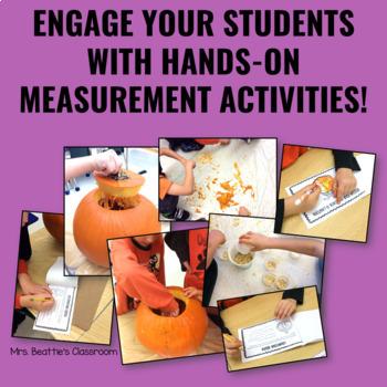 Pumpkin Math - Estimating and Measuring Activities