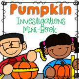 Pumpkin Investigation | Pumpkin Math