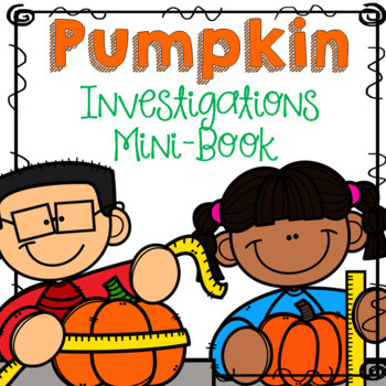 Pumpkin Math Investigation Mini-Book