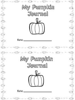 Pumpkin Math Journal