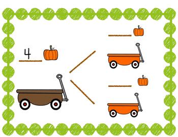 Pumpkin Math Kindergarten