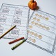 Pumpkin Math - Kindergarten Common Core Numbers Fun