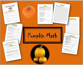Pumpkin Math - Learning Centres and Research Stations