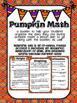 Pumpkin Math: Lesson Plan and Booklet