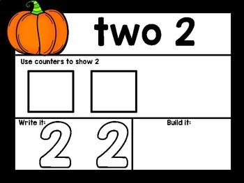 Pumpkin Math Mats