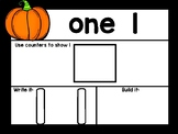 Pumpkin Math Mats