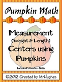 Pumpkin Math {Measurement Centers Using Pumpkins}