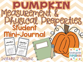 Pumpkin Measurement & Physical Properties: Student Mini-Journal