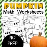 Pumpkin Math Worksheets