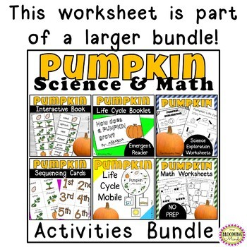 Pumpkin Math {FREEBIE}