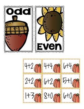 Pumpkin Math Pack-5 Activities in All!
