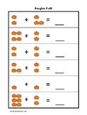 Pumpkin Math Printable Worksheet