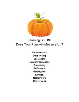 Pumpkin Math & Science Fun!