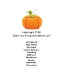 Pumpkin Math & Science Fun!