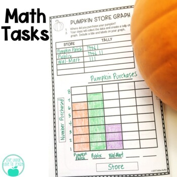 Pumpkin Investigation - Math & Science Activities