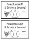 Pumpkin Math & Science Journal