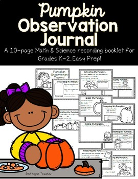 Pumpkin Math & Science--Observation Journal for K-2