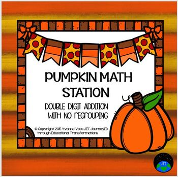Pumpkin Math Station