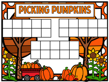 Pumpkin Math Stations and Centers