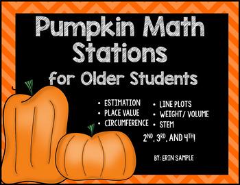 Pumpkin Math Stations {for Older Students}