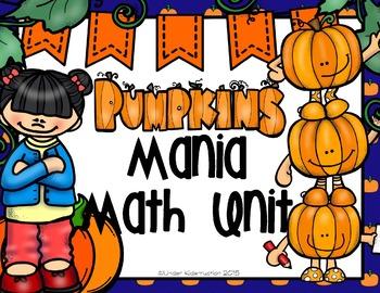 Math; Pumpkin Math; Ten Frame; Tally Mark; Matching; Number/order Recognition;