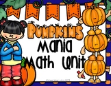 Math; Pumpkin Math; Ten Frame; Tally Mark; Matching; Numbe