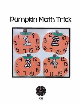 Pumpkin Math Trick