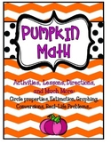 Pumpkin Math: Graphing, Estimation, Much more