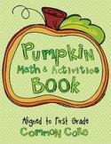 Pumpkin Math and Activities Book