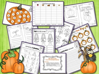PUMPKIN LIFE CYCLE ACTIVITIES| SLIDESHOW, SCIENCE, LITERACY, AND MATH