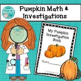 Pumpkin Math and Investigations
