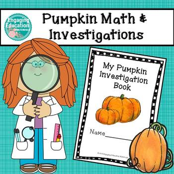Pumpkin Math and Investigations